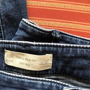 J, Jill Tried and True Fit Slim Leg Jeans. Size 16